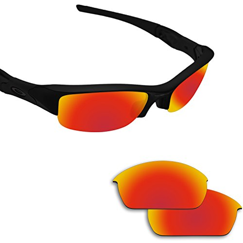 Fiskr Polarized Replacement Lenses for Oakley Flak Jacket Sunglasses - Various Colors (Oakley Lenses Flak)