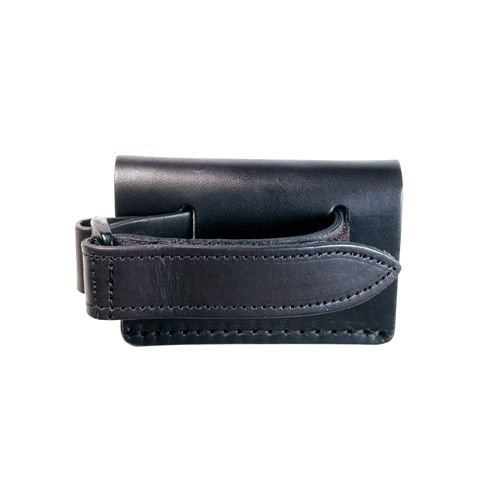 Boston Leather 5485-1 1'' Restraining Strap Radio Holder, Black by Boston Leather