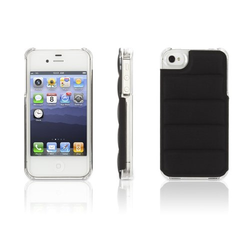 Griffin GB03123 Elan Form Flight for iPhone 4S - 1 Pack - Retail Packaging - Black w Clear
