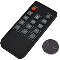 New Remote Control Replacement For Philips Sound Bar 996510054954, 996510050576, 996510063326 CSS2123 CSS2123B/F7 CSS2133B/F7 CSS2133 Model With CR2025 Battery Inside