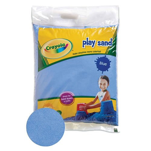 Crayola(R) Blue Play Sand 20 Pound Bag