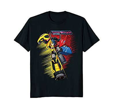 Transformers Bumble Bee And Optimus Prime Hybrid T-Shirt