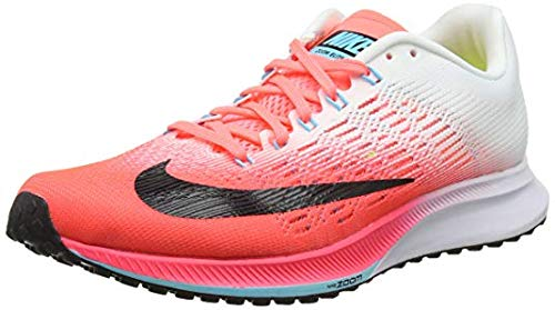 NIKE Damen WMNS Air Zoom Elite 9 Laufschuhe HOT PUNCH/BLACK-WHITE-LAVA