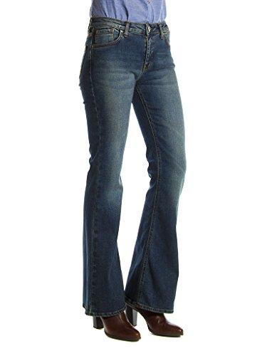 la vas de taille 180 normale femme Bleu Sec style 752 Carrera taille Moyen pour Pierre Jeans Lavage Jeans normale fYnwqTp