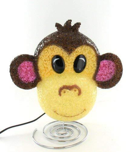 Rhode Island Novelty ELMONKE 8.75'' Sparkle Monkey Lamp, Assorted