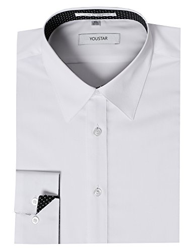 dress shirts with contrasting cuffs - 8