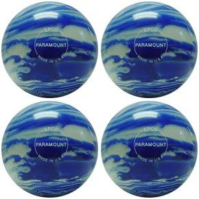 EPCO-Duckpin-Bowling-Ball-4-Marbleized-Blue-White-Balls