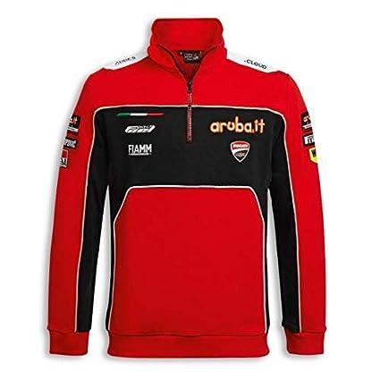 Ducati SBK Team Replica Herren Sweatshirt rot Gr/ö/ße L