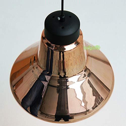 FidgetFidget Modern Tom Copper Glass LED Pendant Lamp Suspension Light Chandelier Lighting by FidgetFidget (Image #2)