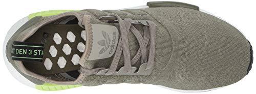 adidas Originals Men's NMD_R1 Running Shoe Trace Cargo/Solar Yellow, 4 M US by adidas Originals (Image #8)
