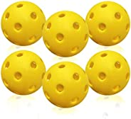 Jenleestar Pickleball Balls Outdoor, X-40 Pickle Balls, USAPA Approved and Sanctioned for Tournament Play, Pac