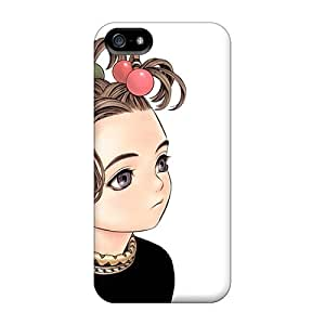 Iphone Case - Tpu Case Protective For Iphone 5/5s- Baby Hair Young Girl Click