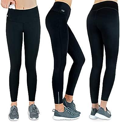 Formbelt® - Pantalón Largo de Running con Bolsillo integrada para Teléfonos Móviles, Leggings Deportivo para Mujeres Riñonera Llaves Gimnasio Mujer ...