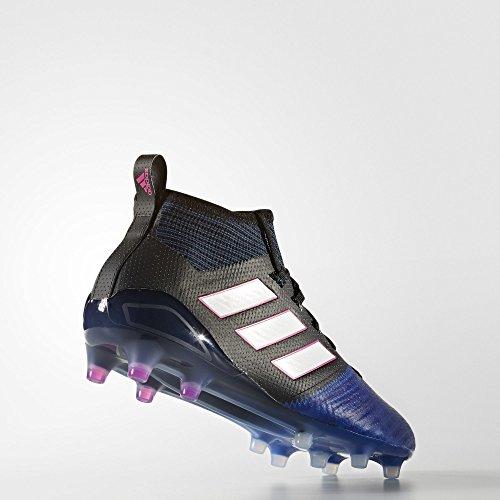 adidas Ace 17.1 Primeknit Fg, pour les Chaussures de Formation de Football Homme, Noir (Nero Negbas/Ftwbla/Azul), 46 EU