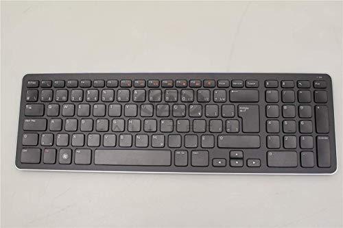 Dell Black French Bluetooth Wireless Keyboard With Mouse And USB Receiver 6N5WW CN-06N5WW 06N5WW KM632