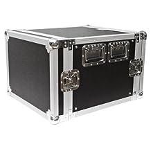 Seismic Audio-8 Space Rack Case for Amp Effect Mixer PA/DJ Pro Audio