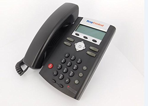 RingCentral Polycom 2 line Sound Point Desktop IP 321/335, Power Supply Included
