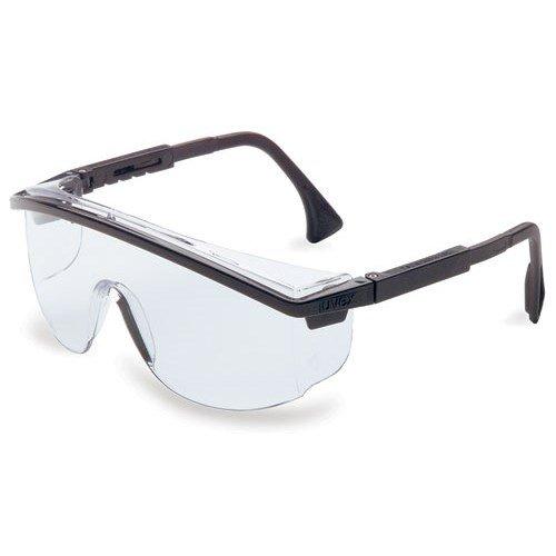 Uvex S1359 ASTROSPEC SAFETY GLASSES BLACK/CLEAR UVEX
