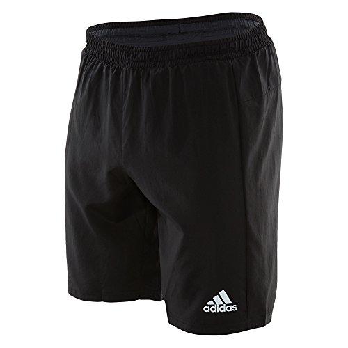 adidas Mens Sequencials Run Shorts, Black, Large/9 Inseam