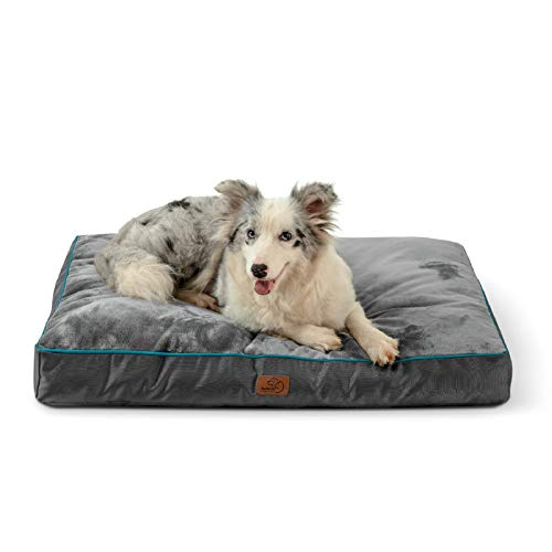 Bedsure Waterproof Dog Beds for Large Dogs – Large Dog Bed with Washable Cover, Pet Bed Mat Pillows for Medium, Extra…