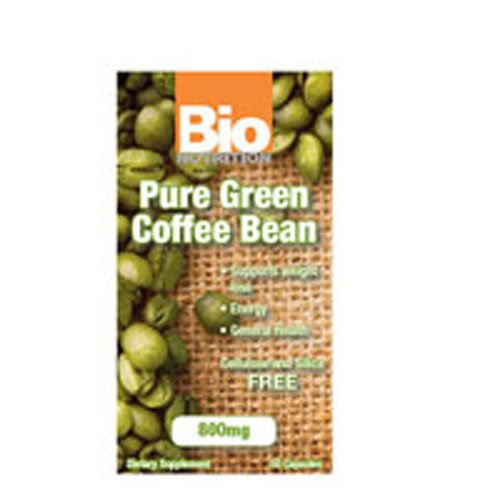 Pure Green Coffee Bean GCA 50 SFG by Bio Nutrition (Image #1)