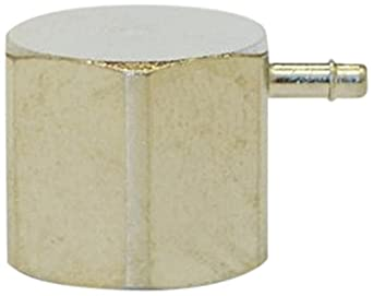 Nickel Plated MettleAir 139F-NP-1A-SB 1//16 ID 1//8 NPT Female Single Barb Hose//Tubing Fitting Elbow L Connector Pack of 10 139F-NP-1A-SB-10PK