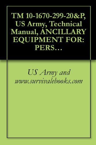 TM 10-1670-299-20&P, US Army, Technical Manual, ANCILLARY EQUIPMENT FOR: PERSONNEL TROOP PARACHUTE SYSTEM CASE, PARACHUTISTS, INDIVIDUAL WEAPON, M-1950 ... MISSILE, RELEASE ASSEMBLY, CONTAINER (Parachute Cdc)