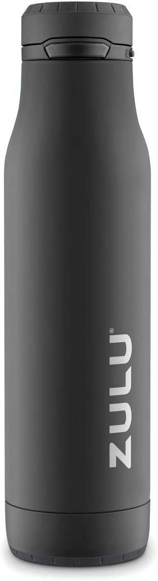 ZULU Ace 24oz Stainless Steel Water Bottle with Removable Base