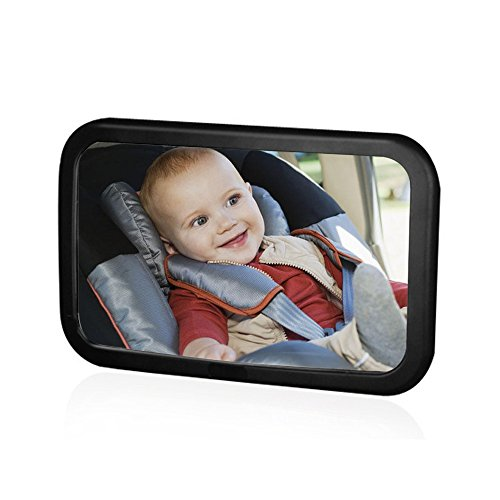 Camande Baby Backseat Mirror For Car View Infant in Rear Fac