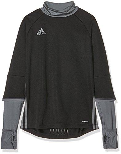 adidas Kinder Sweatshirt Condivo 16 Training Top, Black/Dark Grey/Vista Grey, 152, S93549