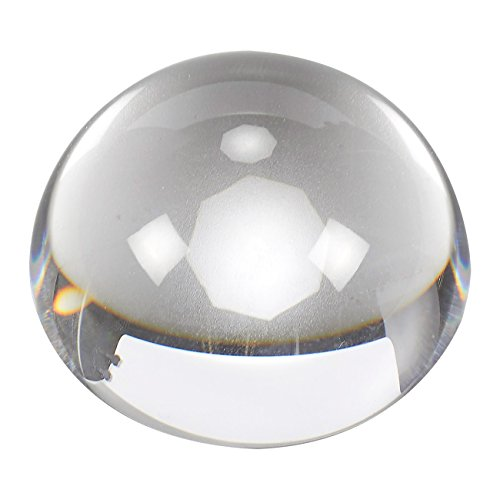 Buy clear bubbles paperweight