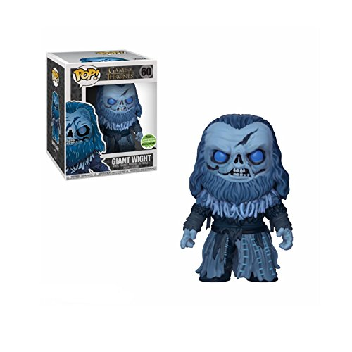 Funko Pop: Game of Thrones - Giant Wight - 6 Inch Vinyl Figure - ECCC 2018 Limited (Pop Edition Game)