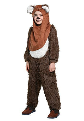 Womens Ewok Costume (Star Wars Premium Wicket Jumpsuit Child Costume -)