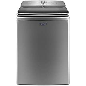 Maytag 6.2 Cu. Ft. Chrome Shadow Top Loading Washer