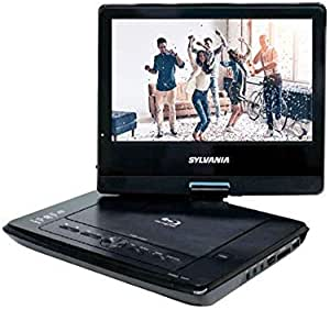 "Sylvania 10"" Portable Blu-ray Player with Swivel Screen - Black- SDVD1079 (Renewed)"