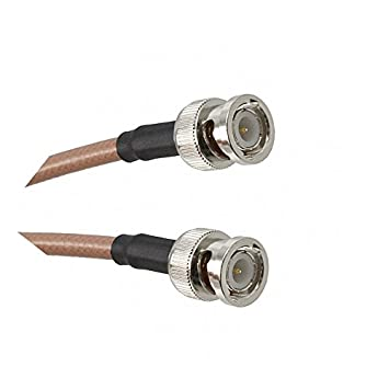 BNC hembra a BNC hembra cable coaxial 50ohm 30 cm 12 ft