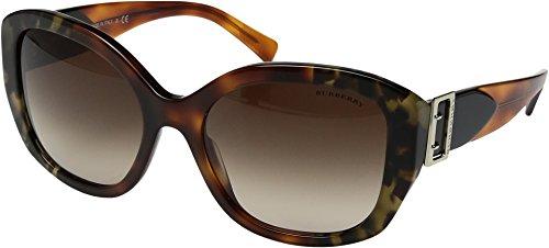 Burberry Women's 0BE4248 Brown Tortoise/Gradient Brown One Size Burberry Brown Tortoise Sunglasses