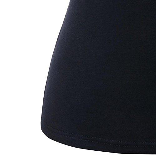 clair Chemisier Gilet Femme Camisole Pure Couleur Camisole Neck Felicy Tops T V sans Noir Taille Manches t Grande Tops Lady Top Dbardeur Shirt Debardeur Vest Femme Crop Femme Fermeture p7nxdBnq