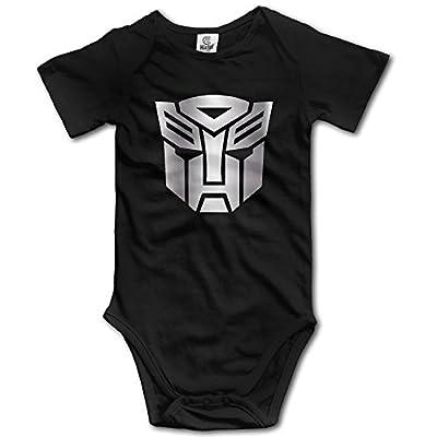Girls' Boys' Infant Transformers Autobot Inspired Symbol Romper Jumpsuit Bodysuit