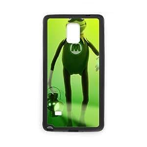 Samsung Galaxy Note 4 Cell Phone Case Black MUPPETS KERMIT PIGGY FUN deg