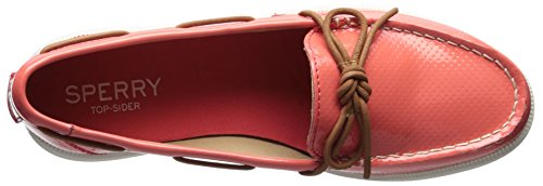 Sperry Boat Coral Perf Us 8 Medium Women's Shoe Canal Oasis Patent rX7qpwg1r