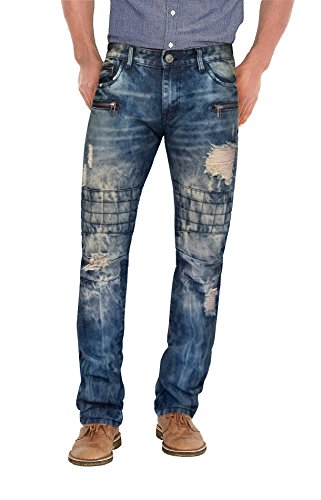 Agile Mens Slim Fit Jeans AP44936SSL Medium BLUE3 38