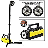 Streamlight 45670 Portable Scene Light with 120V AC/12V DC Charger, Yellow