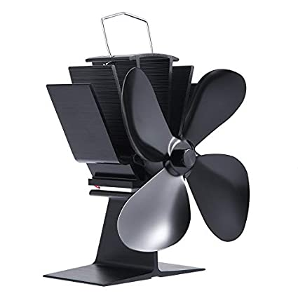 Yogasada Ventilador de la Estufa accionado por Calor de Eco de la eficacia Alta Durable 4