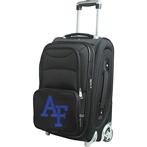 picture of NCAA Air Force Falcons In-Line Skate Wheel Carry-On Luggage, 21-Inch, Black