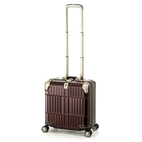 スーツケース 国内線機内持込可 | A.L.I (アジアラゲージ) departure (ディパーチャー) HD-509-16 フレーム B06Y4SBY1K シャイニングジュエリーレッド シャイニングジュエリーレッド