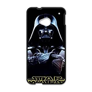 HTC One M7 cell phone cases Black Star Wars fashion phone cases URKL480882
