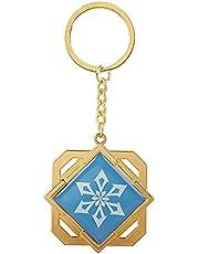 Genshin-Impact Cosplay Vision Gods Eye Sleutelhanger, Cosplay Sleutelhanger Accessoires Metalen Hanger