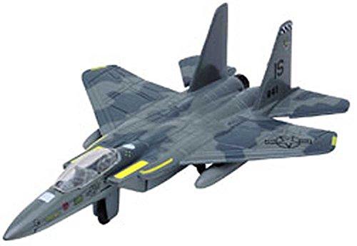 (Motormax Diecast F-15 Strike Eagle (Approx. 6