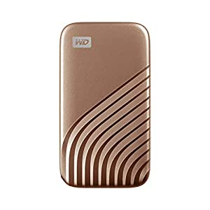 WD 1TB My Passport Portable SSD with NVMe Technology, USB-C, Read Speeds of up to 1050MB/s and Write Speeds of up to…